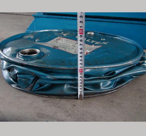 Drum Crusher Baler / Barrel Flattener