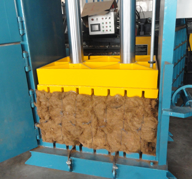 Heavy Duty Baler for Fluffy Material (eg. Heavy Duty Fiber Balers)