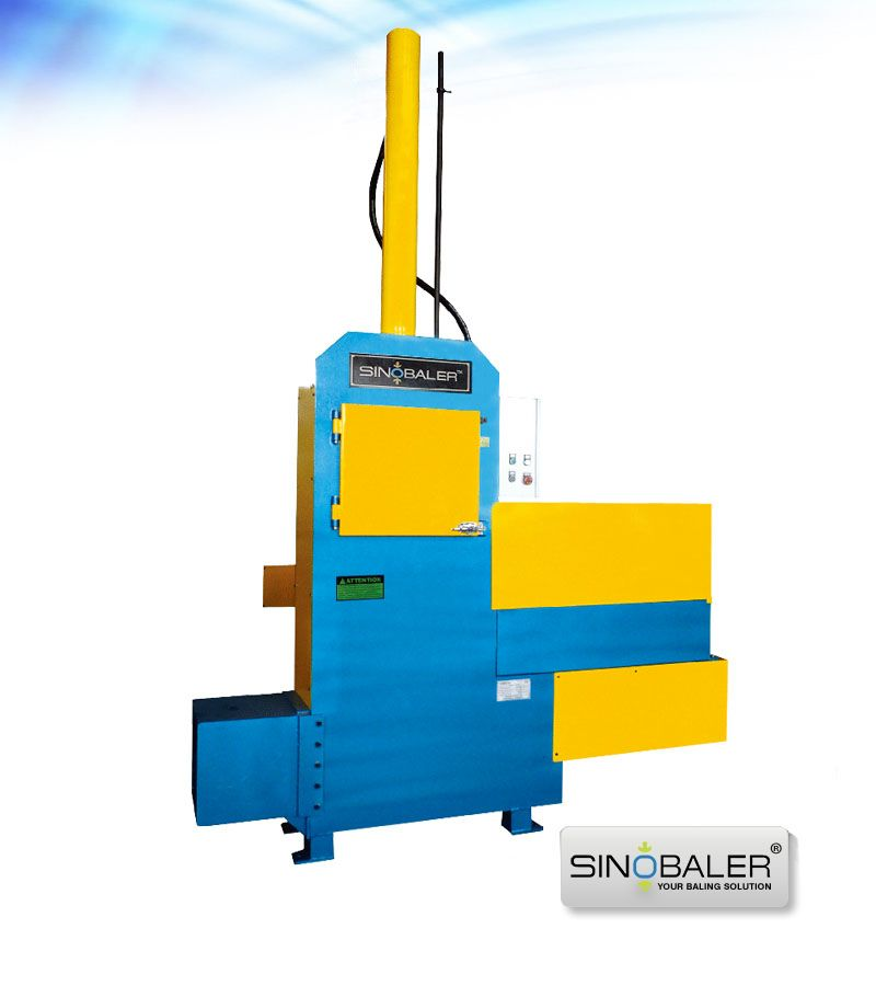 Vertical Bagging Baler Machine, Sawdust Baling Press