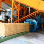 Auto Tie Baler, Horizontal Automatic Baler Machine
