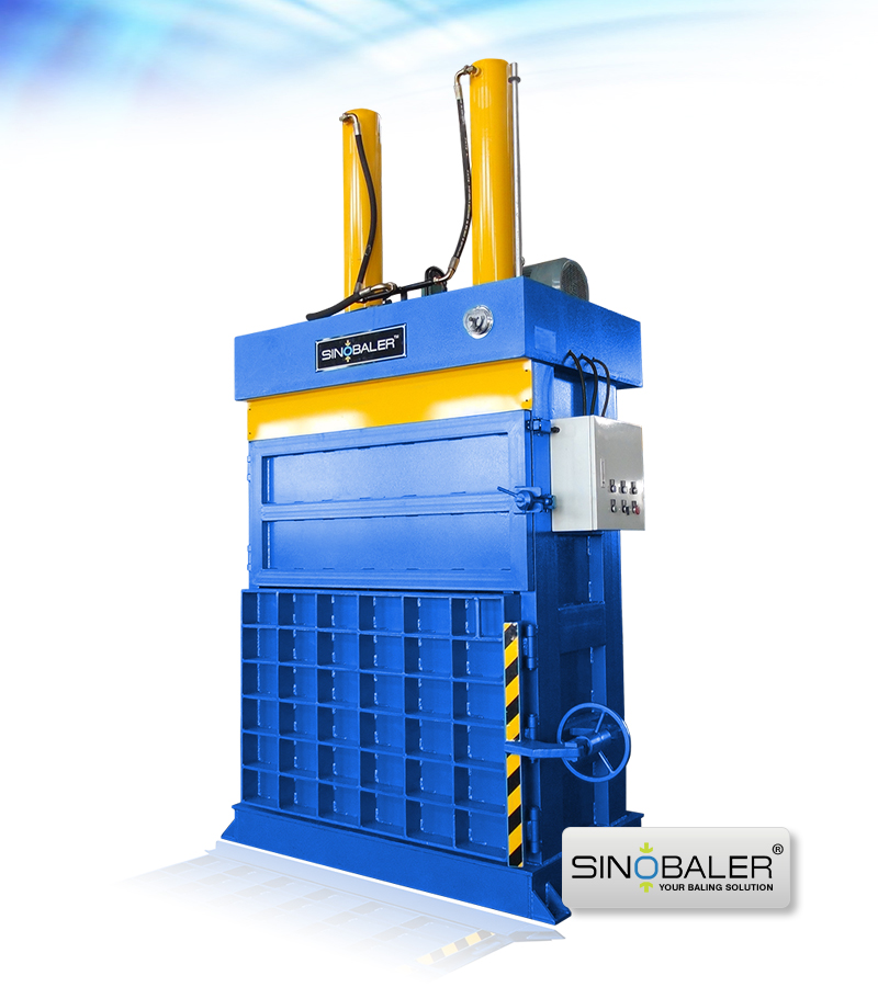 Heavy Duty Dual Ram Baler Machine | Aluminum Alloy Baler