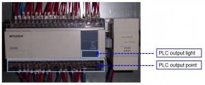 Check PLC on Auto-tie Baler