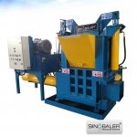 Oil Filter Baler Machine, Oil Filter Briquetting Machine, Oil Filter Crusher