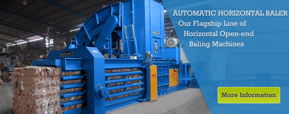Sinobaler Fully Automatic Horizontal Compactor