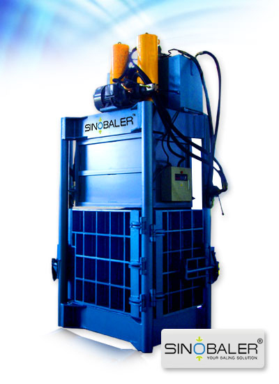 Heavy Duty Baler for Fluffy Material (eg. Heavy Duty Fiber Balers)
