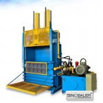 Standard Heavy Duty Baler for High Rebound Material (eg. Tyre Balers or Tire Baler )