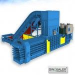 fully automatic horizontal baler machine images